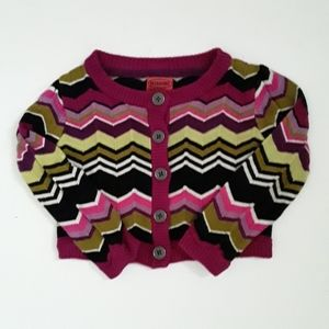 Missoni for Target Chevron Cardigan 18-24 months